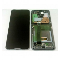 LCD Display + Touch Black + Frame Cosmic Gray Samsung Galaxy S20 Ultra SM-G988F Service Pack